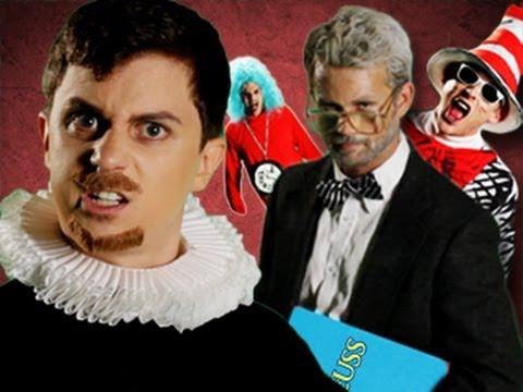Dr Seuss VS Shakespeare. Epic Rap Battles of History