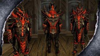 ▶Skyrim Remastered: Draconic Armor ♦️MOD SHOWCASE♦️ | Killerkev ✔️