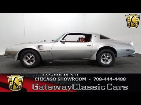 Video of 1976 Firebird - $15,595.00 Offered by Gateway Classic Cars - Chicago - KF0S