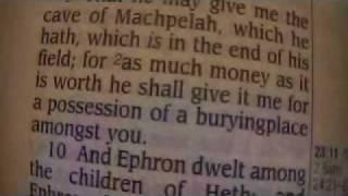 Genesis 23 Holy Bible (King James)