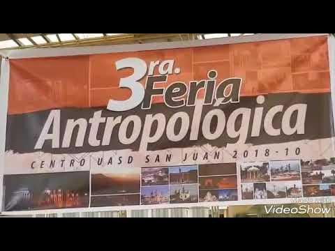 3ra. feria antropologica