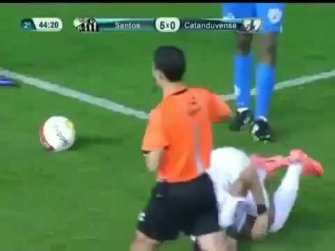 Dribbling da prestigiatore in Neymar
