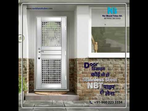 NBT Stainless Steel - Door work by fabricator