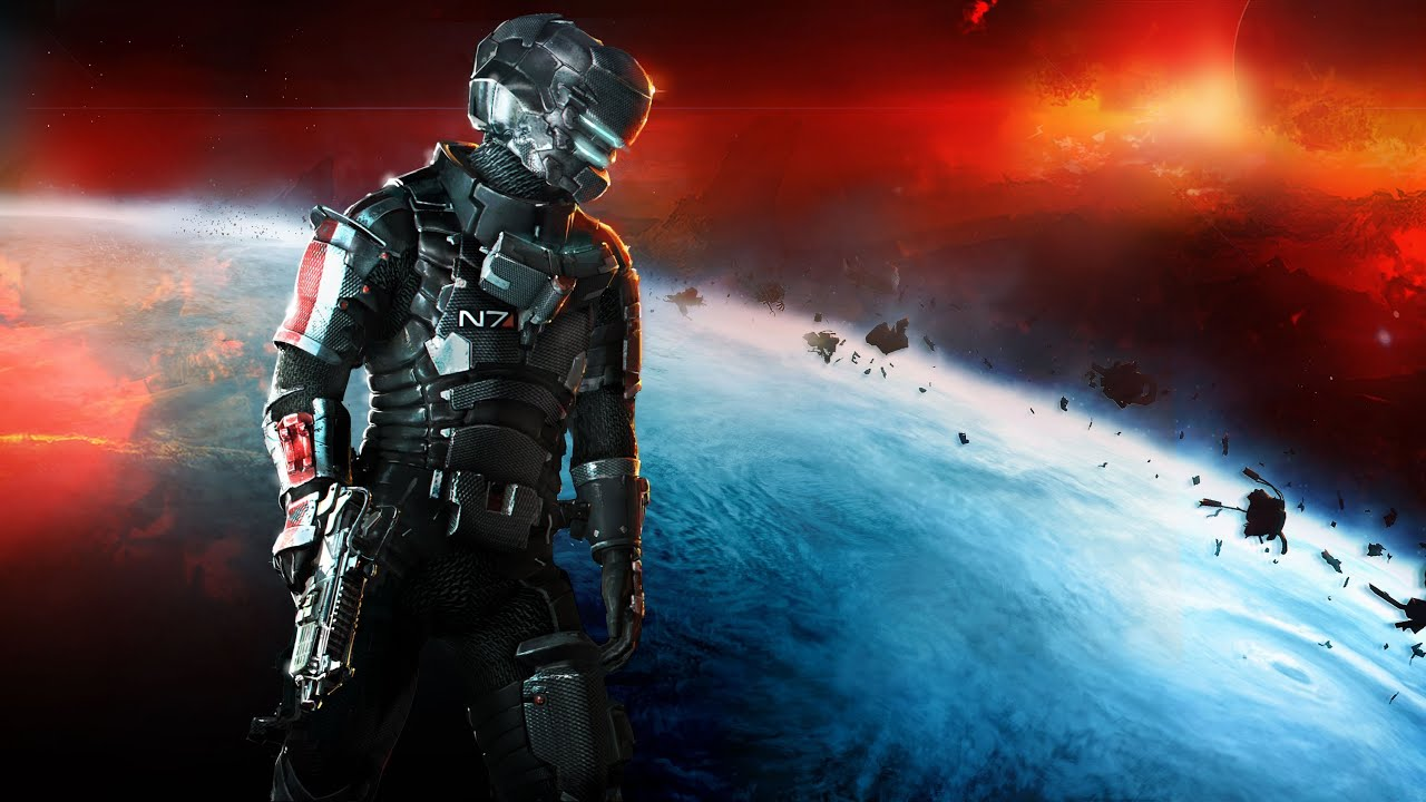 Pretend Dead Space 3 Is A Mass Effect Game With This Special Unlock