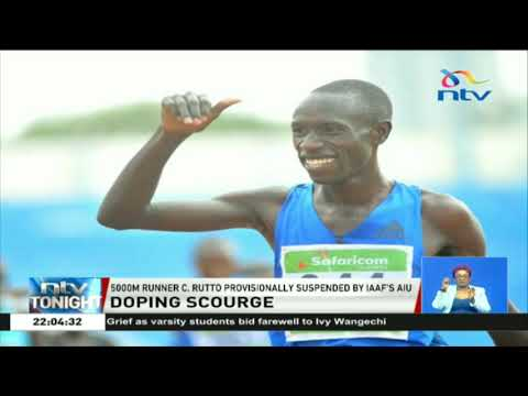 Cyrus Rutto suspended by IAAF`s AIU for doping