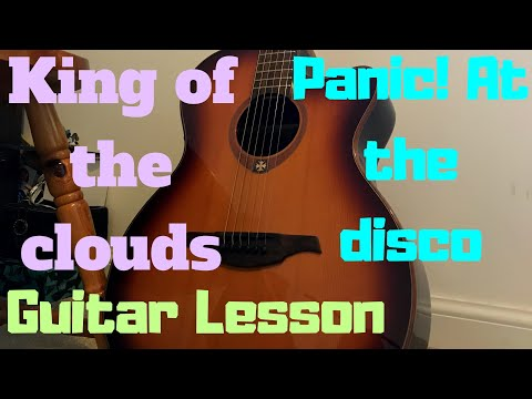 Panic At The Disco King Of The Clouds Ukulele Lesson Chords Tab