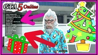 GTA 5 Holiday Gifts From Rockstar! (Gta 5 online Christmas tree Gifts)
