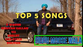Top Songs Of Sidhu Moose Wala Jukebox Or Mashup
