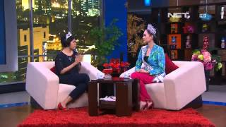 Elvira Devinamira Miss Indonesia Universe 2014- Interview
