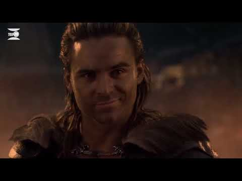 Spartacus Gods of the Arena  Gannicus  Only Fight Movie Clips Episode 6  HD