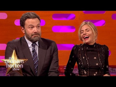 Ben Affleck Had A LOT of Sex Scenes with Sienna Miller - The Graham Norton Show