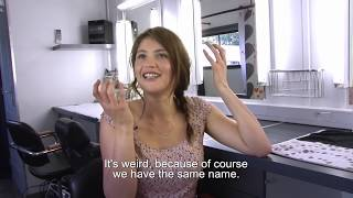 Gemma Bovery Interview - Gemma Arterton (French With English Subtitles)