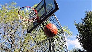 The Best $30 DIY Basketball Rebounder Backstop - Tutorial