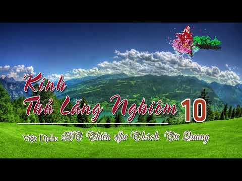 Kinh Thủ Lăng Nghiêm -10