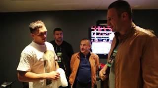 Кличко привітав Усика з перемогою в його першому бою в США