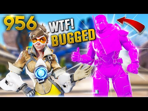 NEVER SEEN BAPTIST BROKEN BUG!! | Overwatch Daily Moments Ep. 956  (Funny and Random Moments)