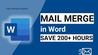 Mail Merge | Word & Excel | Microsoft Tips and Tricks