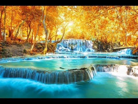 DEEP Healing Water Sounds With Meditation Music 432Hz ➤ Raise Positive Vibrations Calming Waterfall
