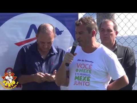 Perguntas para Luizão Centroavante o Multicampeão do Brasil no dia do desafio 2018 em Juquitiba