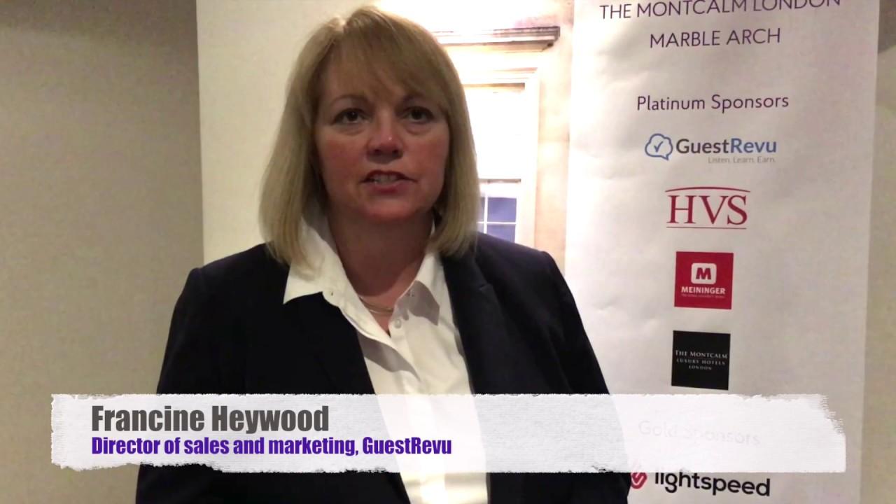 BLHS2017 INTERVIEWS: FRANCINE HEYWOOD, GUESTREVU