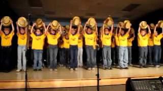 "School Choir - ""One"" from ""A Chorus Line"""