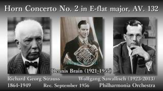 R. Strauss: Horn Concerto No. 2, Brain & Sawallisch (1956) R. シュトラウス ホルン協奏曲第2番 ブレイン