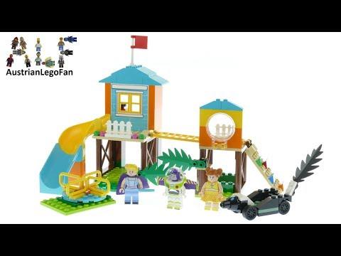 Vidéo LEGO Toy Story 10768 : L'aventure de Buzz et la Bergère dans l'aire de jeu