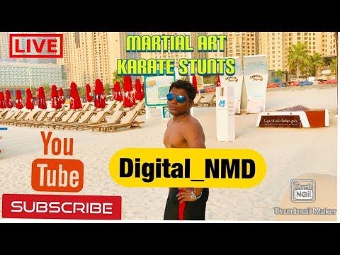 Martial Art Stuns | Self defense & Karate stunt by Navanath Darekar | Fitness & Health training