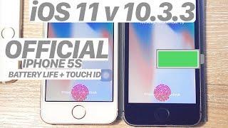 iOS 11 vs. iOS 10.3.3 - SPEED TEST + BATTERY + BENCHMARK! (iPHONE 5S) #iOS11 #IPHONE5S #IOS11 #IOS10
