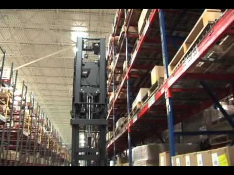 Hydrogen Fuel Cells Power Able Womack Lift Trucks at UNFI, Sarasota, FL Warehouse
