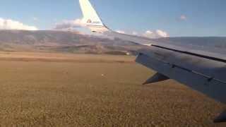 Flying into Jackson Hole, WY