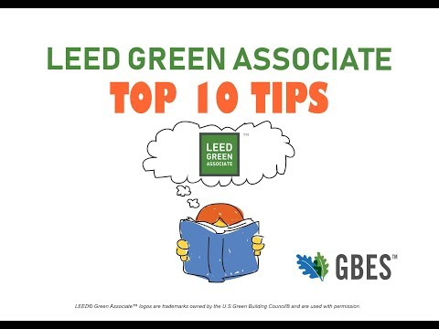 LEED Green Associate Exam Prep (Top 10 Tips - 2018) - YouTube