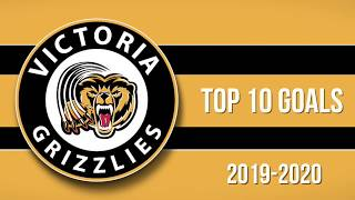 Top 10 Victoria Grizzlies Goals of 2019-20
