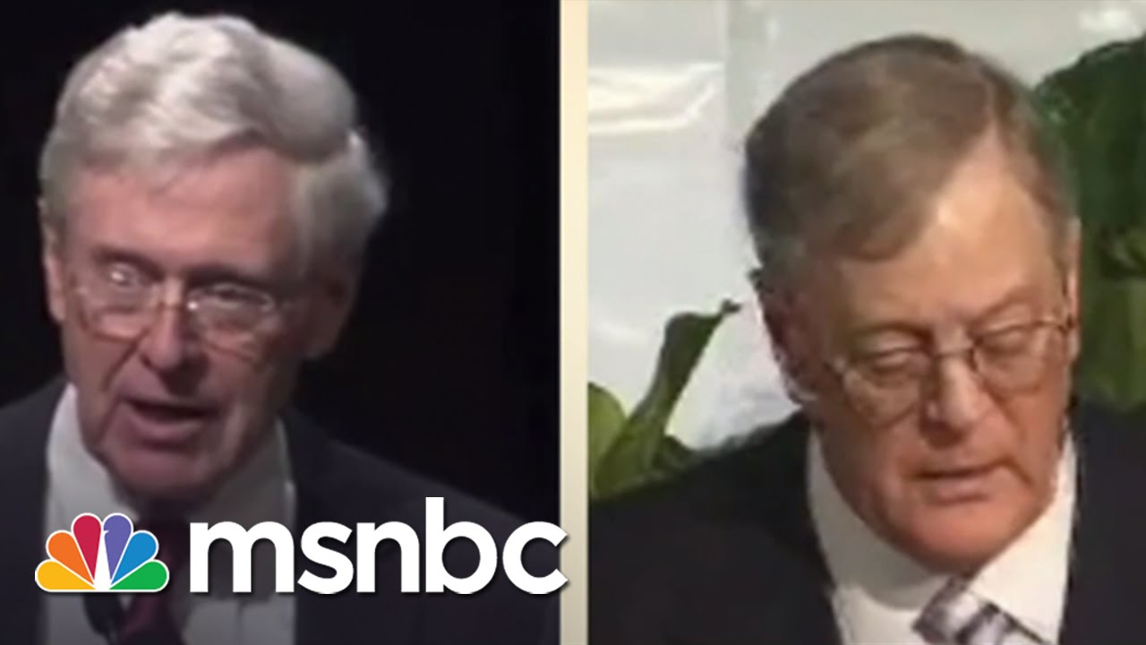 Koch Brothers' $889M Political Influence | msnbc thumbnail