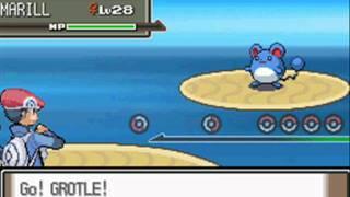Grotle  - (Pokémon) - Pokemon Platinum Walkthrough Part 22 - Grotle evolves into Torterra