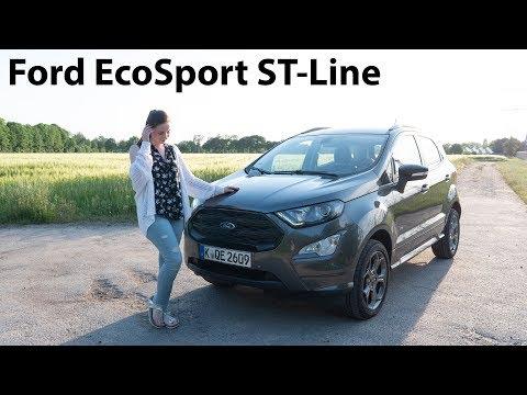 2019 Ford EcoSport ST-Line 1.5l EcoBlue Fahrbericht / B-SUV mit cleverem Allradantrieb - Autophorie