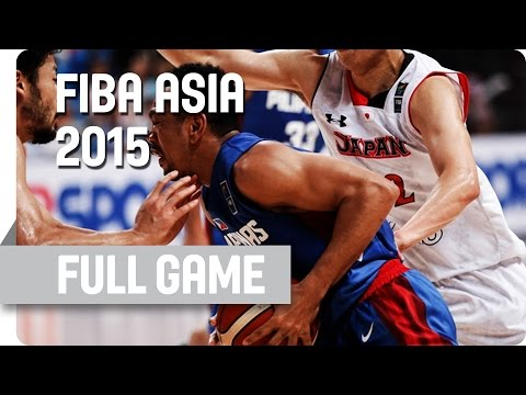 Japan v Philippines - Semi-Final - Full Game - 2015 FIBA Asia Championship