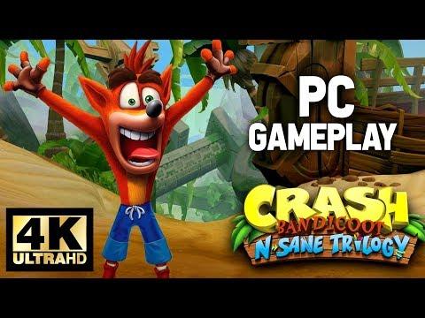 Crash Bandicoot N. Sane Trilogy PC Gameplay 4K 60fps