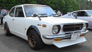 (4K)1973 TOYOTA SPRINTER TRUENO TE27 トヨタ・スプリンタートレノ - 北海道オールドカーフェスティバルin岩見沢