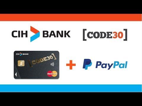 فتح حساب بنكي  CIH Code 30 مجانا على الأنترنت بدون دهاب إلى وكالة البنكية.