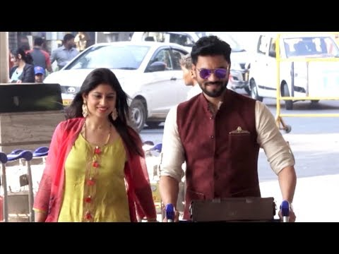 Newly MARRIED COUPLE Gaurav Chopra & Hishita Chopr