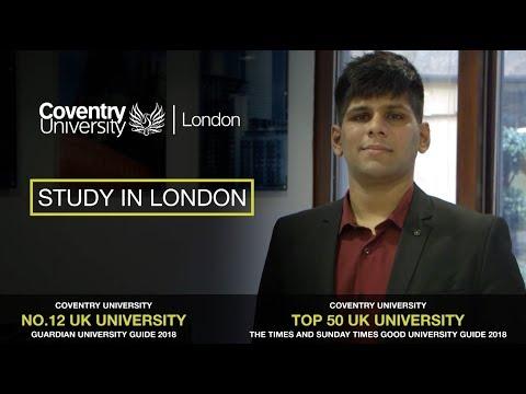 Study in London – Vignesh