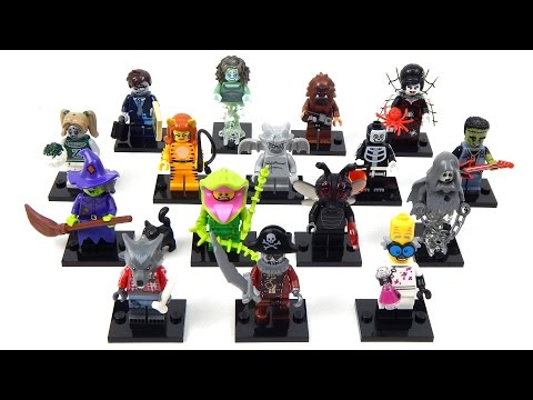 Vidéo LEGO Minifigures 71010 : Série 14
