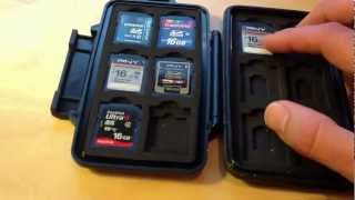 Pelican SD memory card case 0915 Review