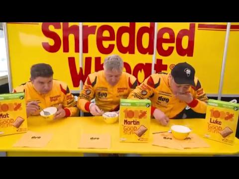 The Shredded Wheat challenge - Thruxton BTCC 2017
