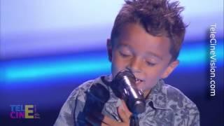 La Voz Kids 3 #1- Audición a ciegas de los gemelos Antonio y Paco #TeleCineVision