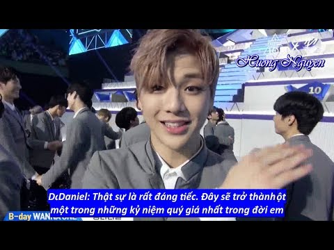 [Vietsub] Kang Daniel on B-day WANNA ONE @Produce 101 Final Round