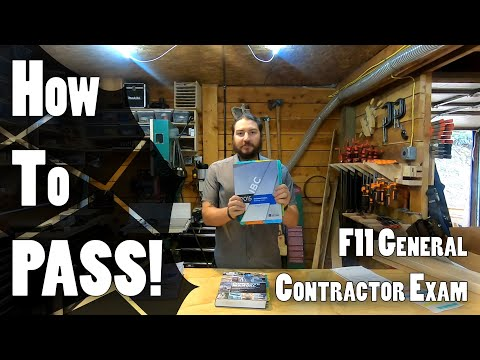 How to Pass the ICC General Contractor Exam - YouTube