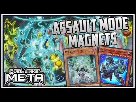 Magnetic Field Abuse: Assault Mode! New EX Structure! [Yu-Gi-Oh Duel Links]