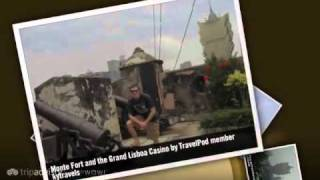 preview picture of video 'Lisboa Casino - Macau Peninsula, Macau, China'